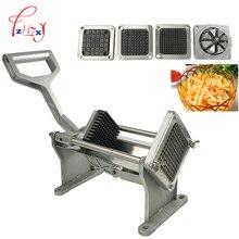 Коммерческий ручной слайсер для картофеля, фруктов, овощей, резак, слайсер, инструмент для измельчения картофеля, машина для резки картофеля с 4 лезвиями, 1 шт