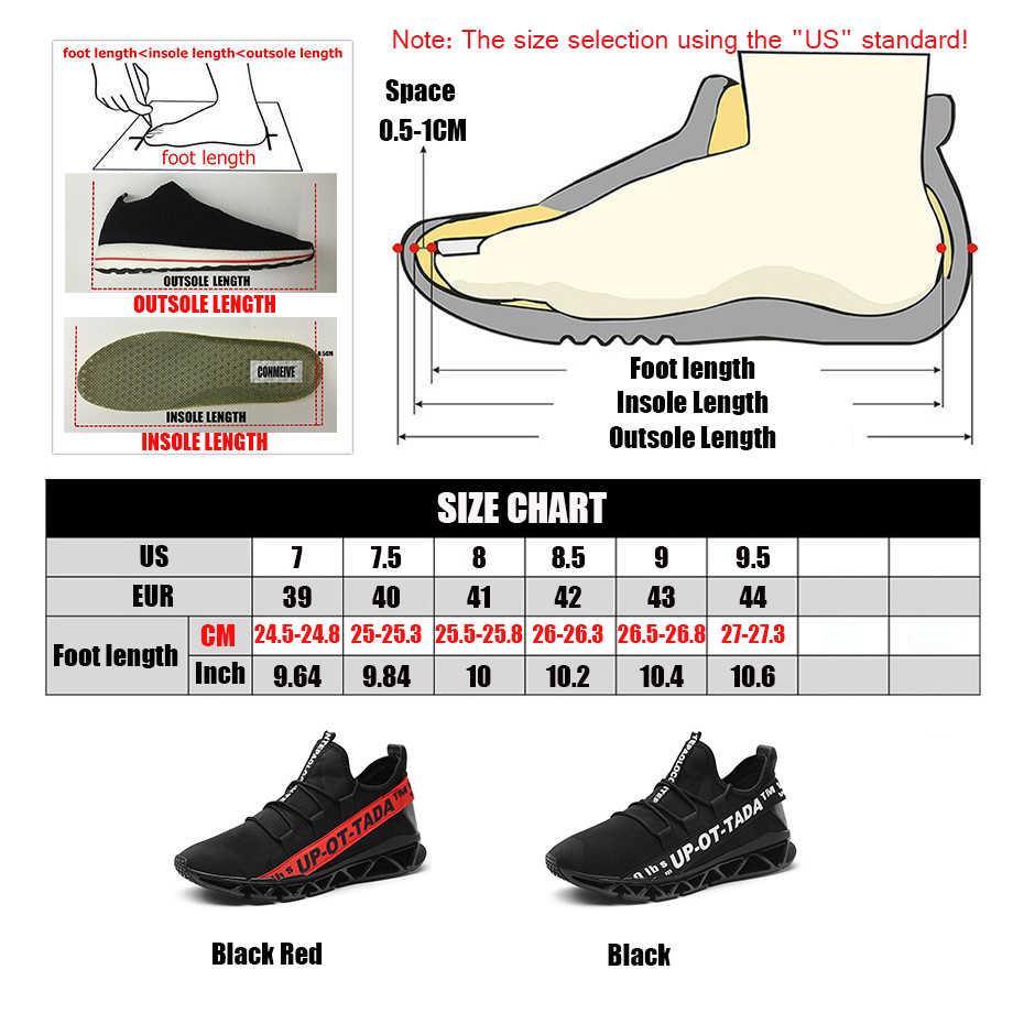 Устойчивость амортизации мужские кроссовки для бега нескользящая подошва с лезвием мужские дизайнерские кроссовки легкие износостойкие мужские спортивные кроссовки для бега