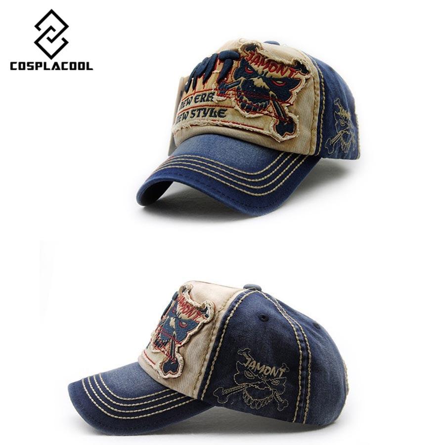 [COSPLACOOL] 2016 new Skull men women adjustable brand snapback cap hats  bone casquette hat gorras baseball cap hip hop cap