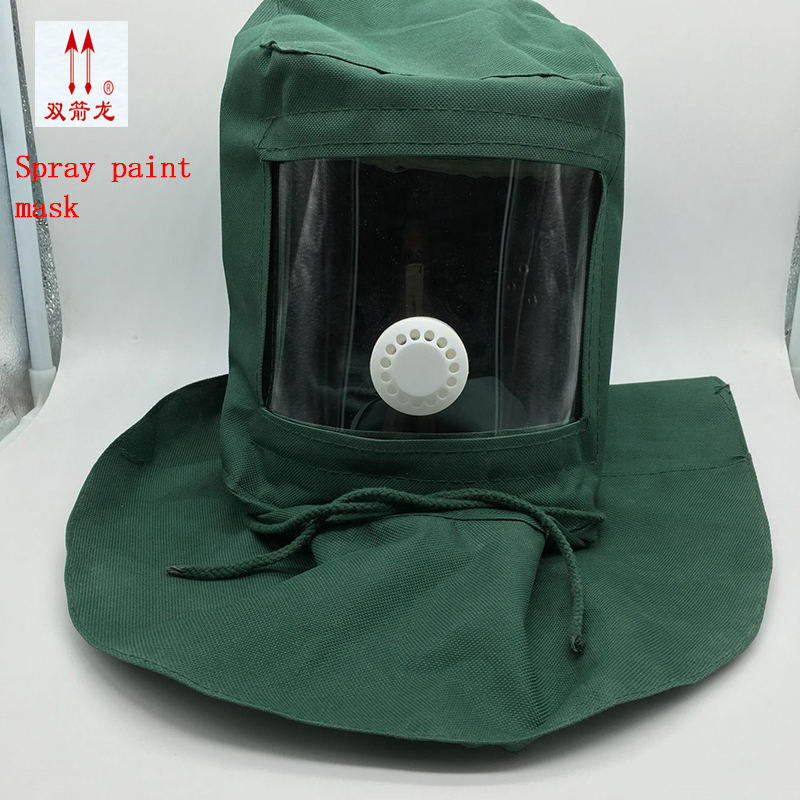 Respirator Mask Big Yards Shawl Boxe Pesticide Spraying Protect Waterproof Silk Mask PC Mirror Gas Mask Full Package Of Mail