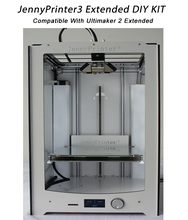 JennyPrinter3 Extended DIY KIT Perfect Compatible with original Ultimaker 2 UM2 Included all 3D Printer Parts