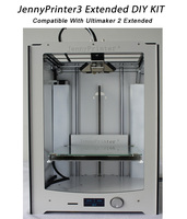 Jennyprinter3 Расширенный автоматический выравнивания 3D принтеры DIY Kit идеально совместимы с Ultimaker 2 um2 Расширенный включены все Запчасти