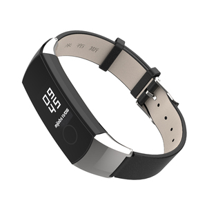 Image 2 - Band Voor Huawei Honor Band 5 Band Smart Polsband Voor Honor Band 4 Riem Echt Leer Voor Band 5 Armband smart Accessoires