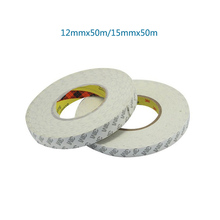 2pcs 12mmx50m,15mmx50m 3M Double Sided Adhesive Tape For Phone LCD Screen Frame Repairing And Others