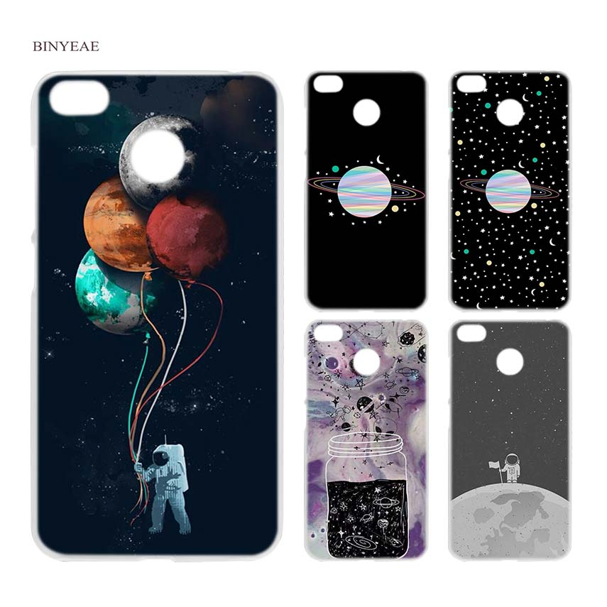 BINYEAE Merry Go Round Planet Space Alien sky Clear Hard Case Cover Shell for Xiaomi MI A2 A1 5X 6X Redmi Note 4X 4 4A 5 Plus