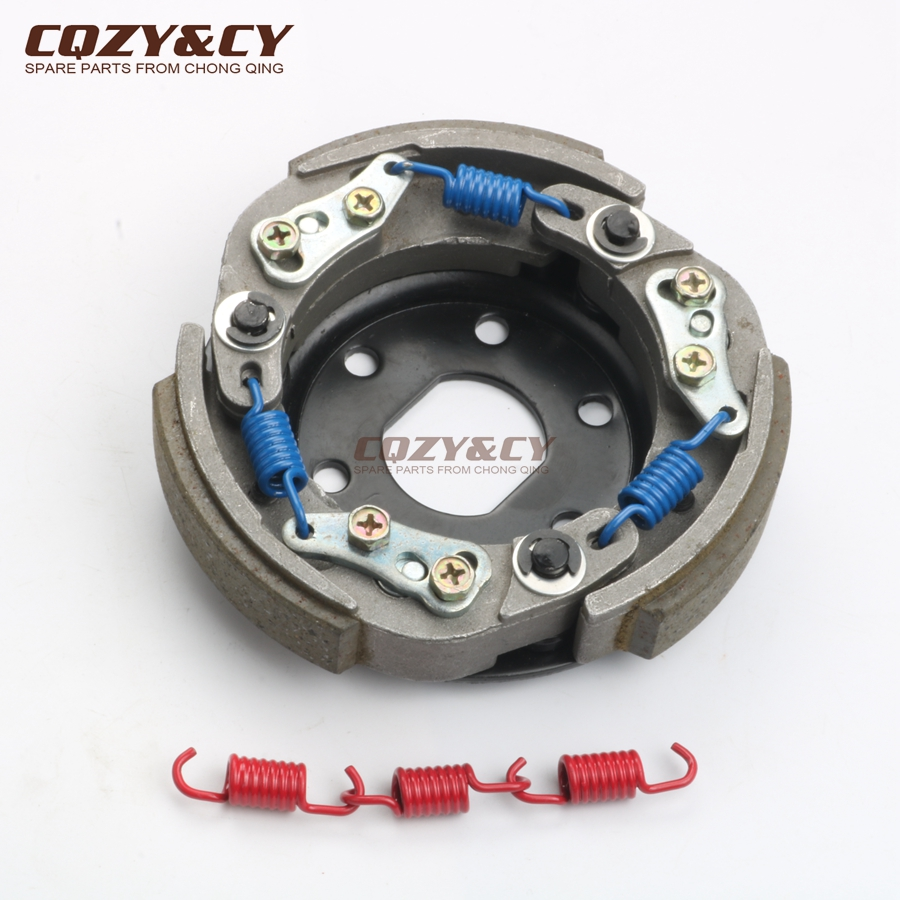 High Quality Clutch For YAMAHA 50 Neo's Easy Jog R RR Slider Target Vino Why Zest YE Zuma II 50cc LC D=107mm 100360200