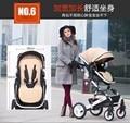 Cochecito de bebé luz del coche de bebé plegable de cuatro ruedas amortiguadores cochecito de bebé bb carros