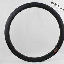 Дисковый тормоз 50 мм матовый 25 ширина циклокросс велосипедный обод из углеродного сплава UD клинчер для велосипеда диски велосипедные диски без тормозной поверхности