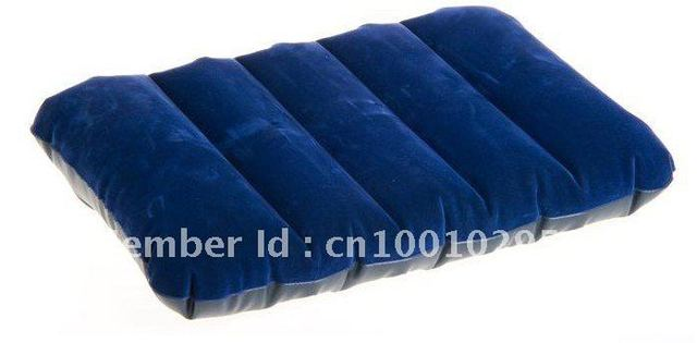 freeshipping intex 68672  Inflatable neck Travel hotel airplane camping Sleeping Air Pillow easy to carry  WITHOUT PROFIT