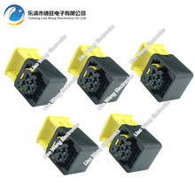 цена на 5 sets 4 pin Automotive Sensor Controls Harness Connector Connector With Terminal 2-1418390-1 4P