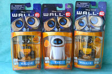 ALEN 6cm Wall-E Robot & 9cm EVE PVC Robot Action Figure Wall E Collection Model Toys Dolls Best Gift For Children(China)