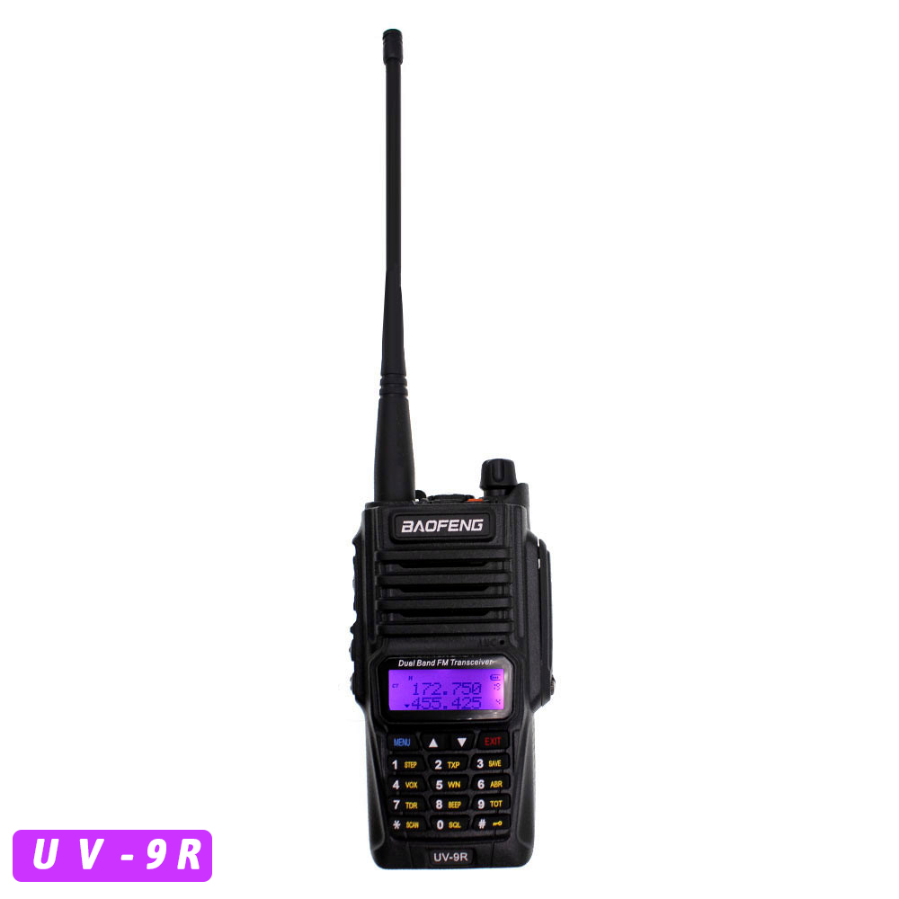 Baofeng Dual Band UV-9R Waterproof Dust Proof Walkie Talkie Two Way Radio Long Range UV9R Walkie Talkie
