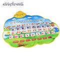 Abbyfrank русская вокальная игрушка электронные плакаты Алфавит Детские музыкальные животные звук обучающая развивающая игрушка для детей