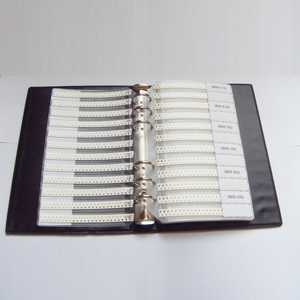 Image 3 - Ücretsiz kargo 0805 SMD Örnek Kitap 37 values 1875 adet Direnç Kiti ve 17 values 600 adet Kapasitör Seti