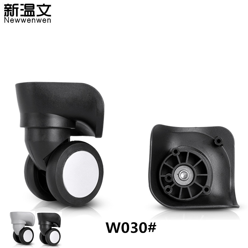 Replacement luggage Wheels Suitcase Casters Rubber Trolley Wheels Suitcases Repair parts Spinner for Luggage wheels W030# replacement wheels for luggage repair trolley luggage side wheels suitcase wheels repair wheels for suitcases w047
