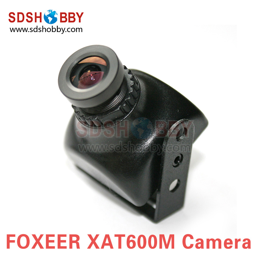 ФОТО Foxeer XAT600M HS1177 600TVL CCD Camera Mini FPV Cam with 2.8mm Lens Plastic Case for Aerial Photography