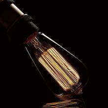 Bombilla incandescente Vintage Edison E27, 40W, A19, G80, G95, G125, ST64, T10, 4 unidades/lote, 220V