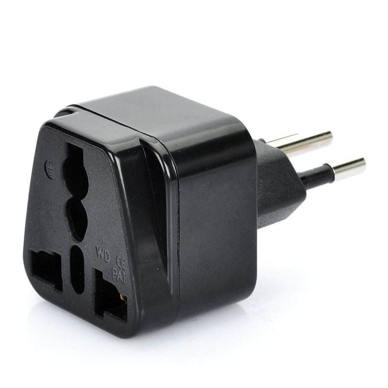 1Pc Universal United Kingdom/US/EU/Russia to Brasil Brazil Travel Power Adapter Plug