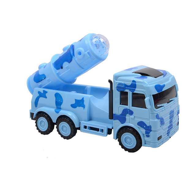 hot sale creative electric baby kids vehicle military car truck music glowing children educational toys birthday