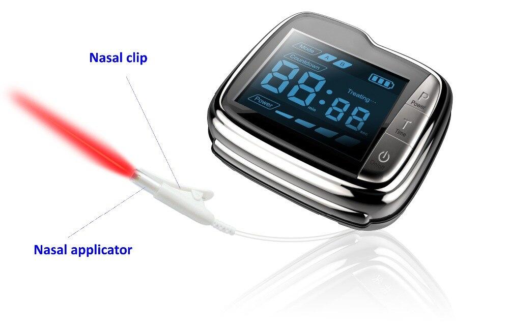 Laser montre thérapeutique à contrôler la pression artérielle et haute sang suger