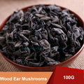 100g Organic Natural Fungus Wood Ear Mushrooms Chinese Health Care Supplements