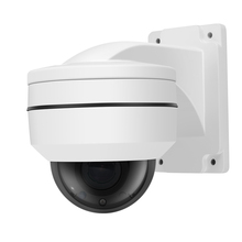 цена на 2MP POE PTZ IP Camera 2.8-12mm Motorized Lens 4* Zoom IR Distance 30M Waterproof Dome Security Camera 1080P With Bracket