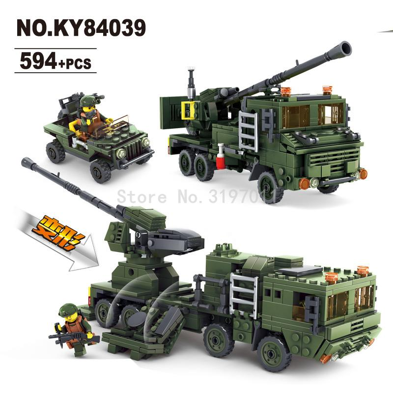 KAZI Guidance Radar Field Army Series Vehicle DIY Model Building Blocks Bricks Kits Lepin Educational Toys Gifts For Children kazi building blocks k87011 608pcs pirates black pearl model building kits model toy bricks toys hobbies blocks