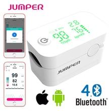 Jumper Nieuwe Pulsoxymeter Bluetooth Vingertop Saturatiemeter De Pulso De Dedo Led Pulsoxymeters Saturator Pulsioximetro