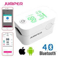 Nouveau Pulsioximetro de pulso de dedo oxymètre de pouls avec doigt Bluetooth oxymètre de pouls LED Pulsioximetro