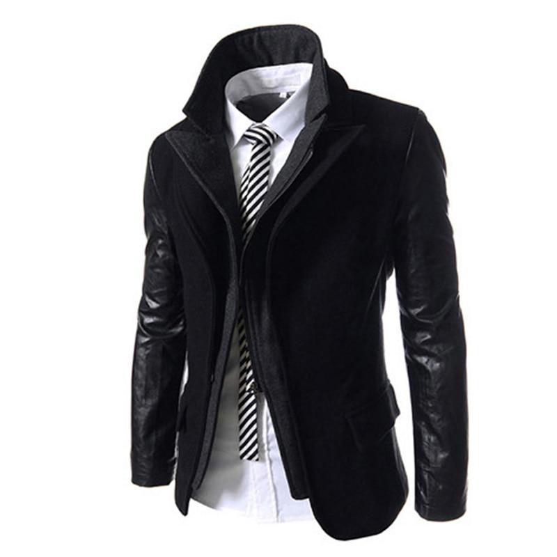 2016 Hot Fashion Casual Jackets Men European Designers Jacket Coat Free Shipping Men Spring Winter Parka Men 2 Pieces Coat S1222 designers children s
