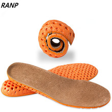 Height Increase Leather EVA Pigskin Gel Flat Foot Silicone Sole Arch Support Orthopedic Shoe Pad Lift Cushion Memory Foam Insole цена и фото