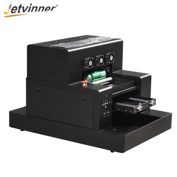 Jetvinner A3 Size UV Printer Inkjet Print Machine Bottle Printers for Phone Case, Cylinder, Acrylic, Metal, Wood, Glass, PVC