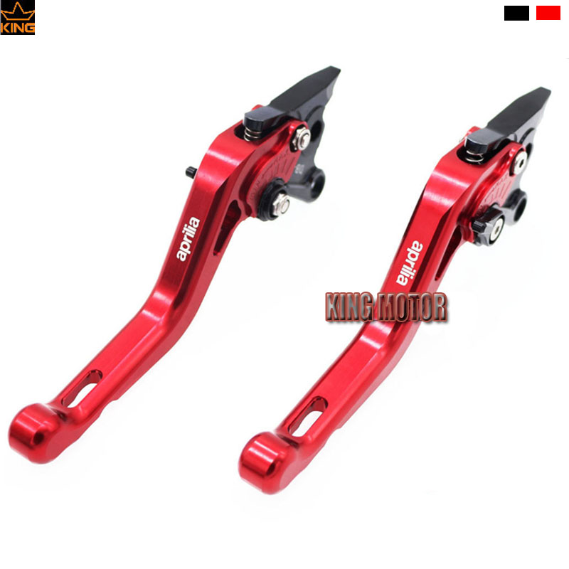 For Aprilia CAPANORD 1200 TUONO / R DORSODURO 1200 Motorcycle Accessories Short Brake Clutch Levers Red 70cm lovely monkey plush toy cici monkey doll throw pillow birthday gift w6290