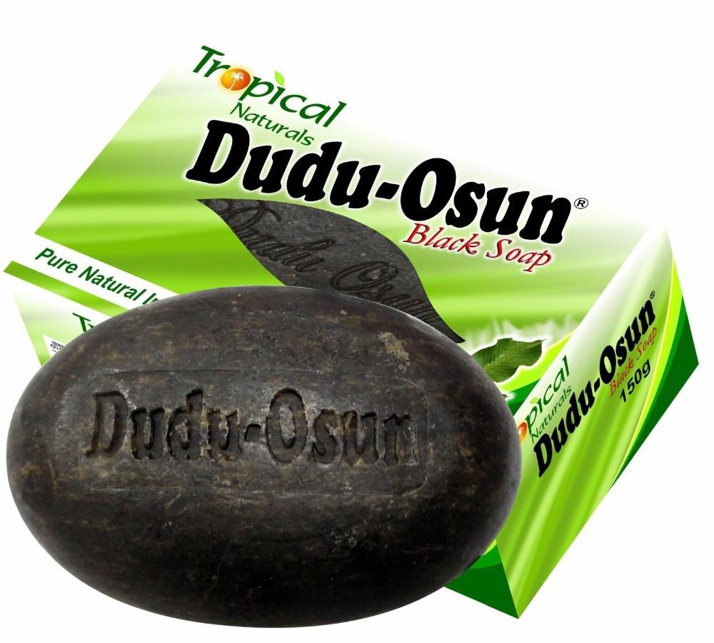 150 г Тропическое мыло Dudu Osun Африканское натуральное черное мыло с натуральным ингредиентом Африканское мыло Ши влага Нуар мед какао алоэ