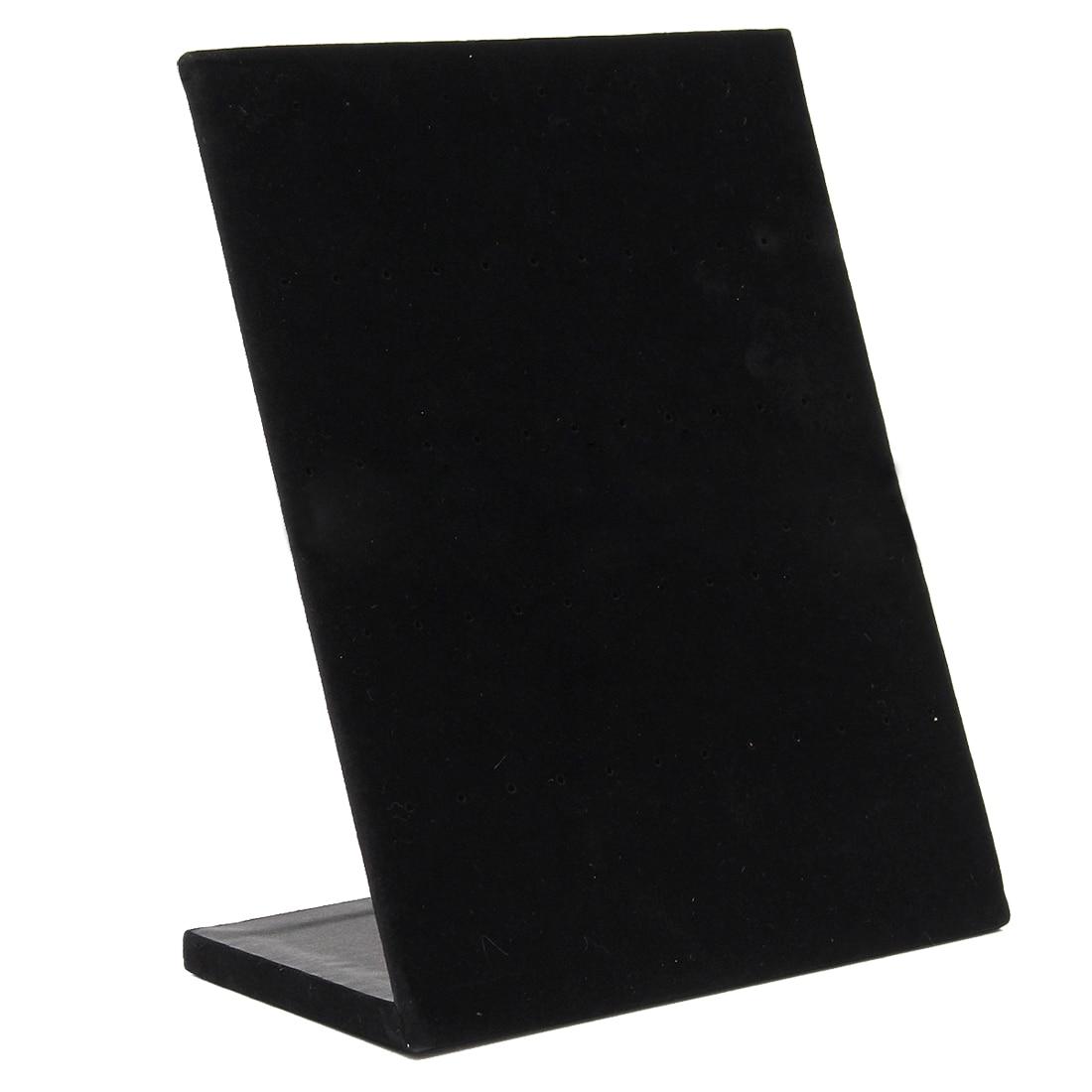 Velvet Display Stand 30 Pair Earring Standcolor Jewelery Black