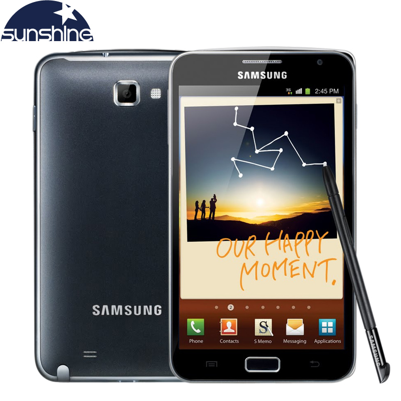Original Samsung Galaxy Note i9220 N7000 Mobile Phone 5 3 Dual Core Smartphone 8MP GPS WCDMA