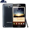 """Original samsung galaxy note i9220 n7000 telefone celular 5.3 """"dual core smartphone 8mp gps wcdma telefone remodelado telefones celulares"""