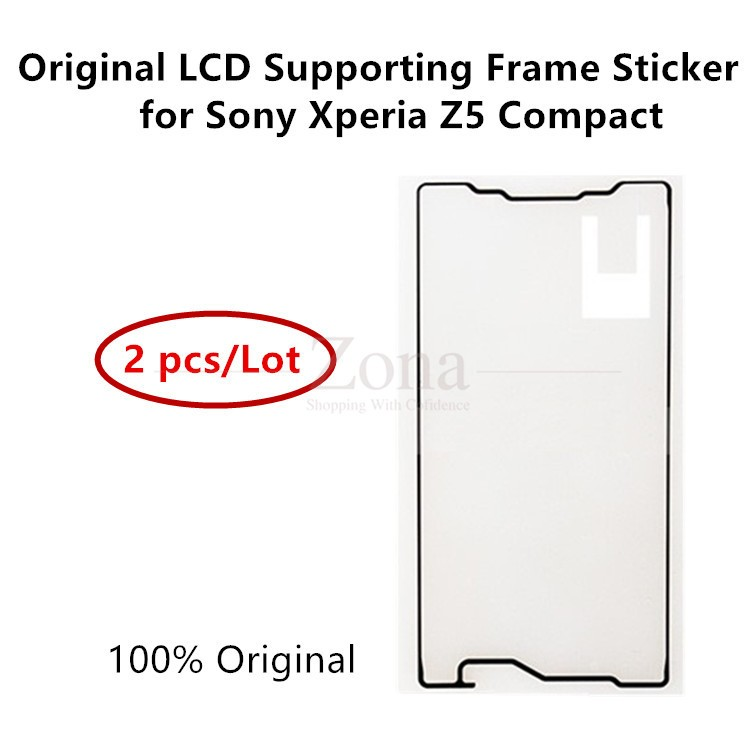 2 pcs/lot Original for Sony Xperia Z5 Compact LCD