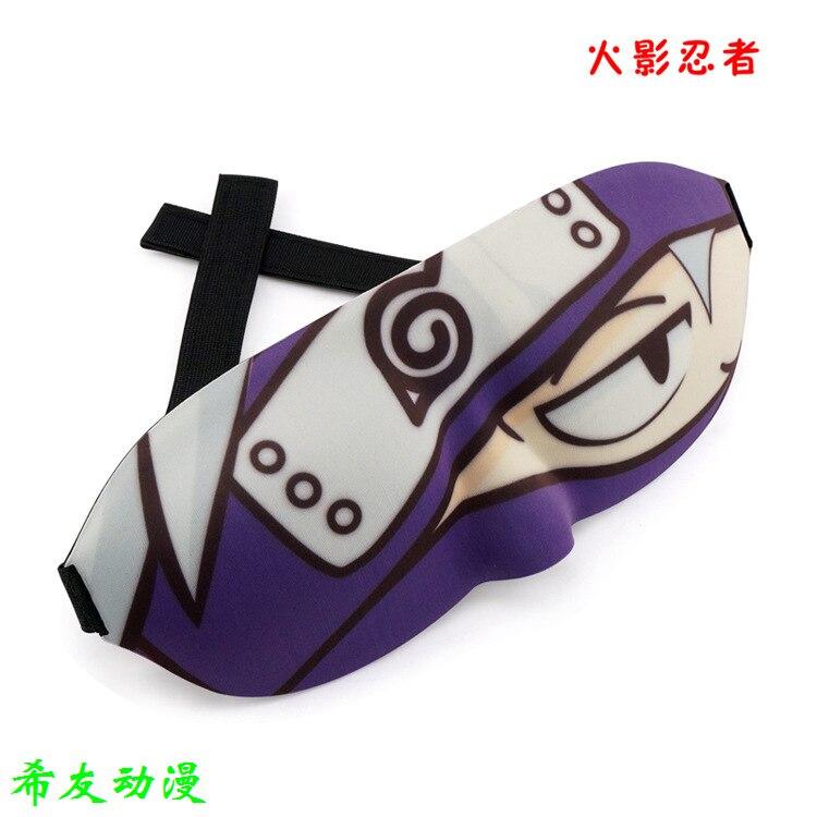 Naruto Kakashi sponge anime around 3d stereo eye mask eye does not press eye shading sleep