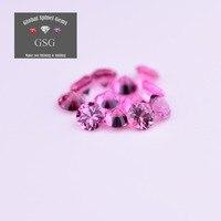 100% натуральный драгоценный камень шпинель 12 шт. 1.5ct 3 мм для ювелирных изделий непосредственно передает к ваши руки от GSG Таиланд резки фабри