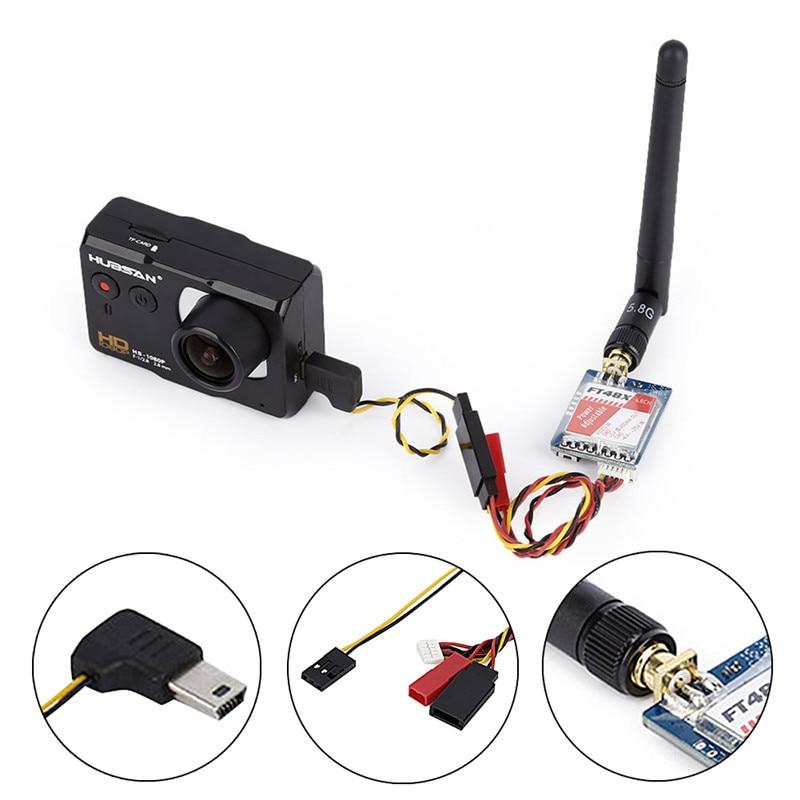 FT48X 5 8G 48CH 0 25 25mW 200mW 600mW Adjustable Video Transmitter FPV Racer VTX Wireless