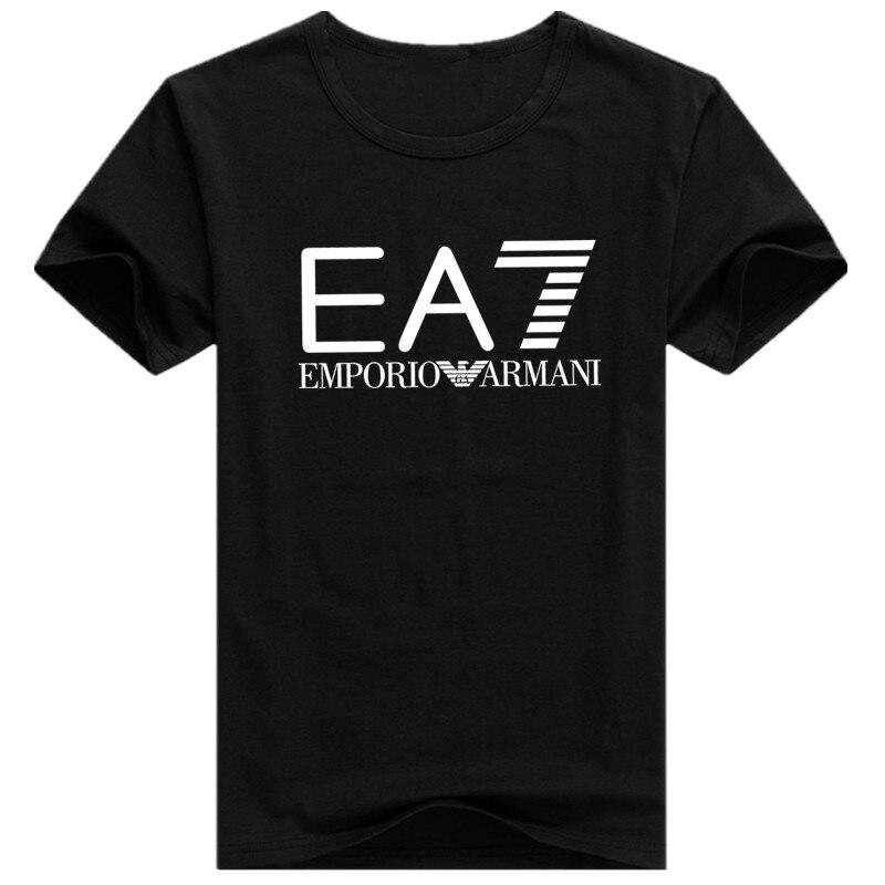 16 Kinds Of Style/EA Paris T Shirt Men Fashion T-Shirt Cotton Short Sleeve Shirts for Men Casual Funny T Shirts Tops Tee