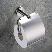 304 In Acciaio Inox Carta Igienica Supporto per Rotolo di Carta Cremagliera Gancio Accessori Per il Bagno Spazzolato e Specchio del Bicromato di potassio Lucido 2 Scelte
