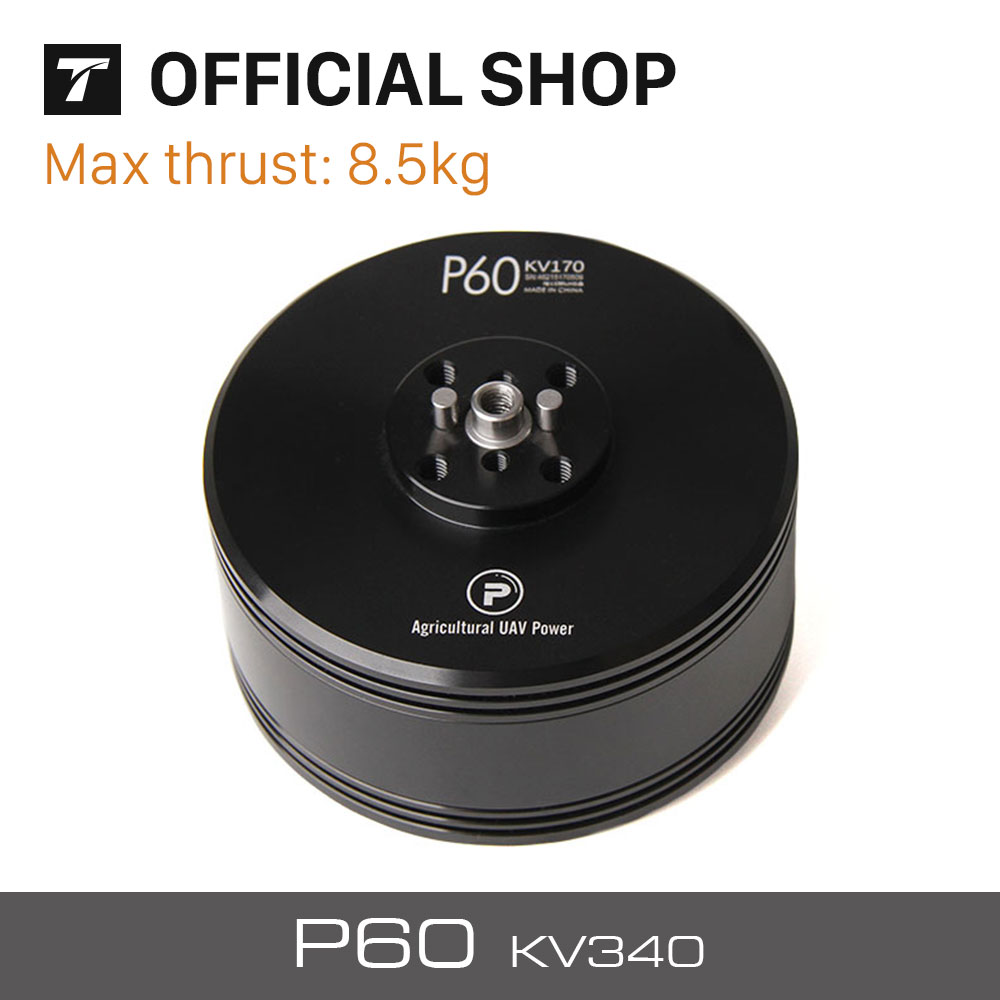 T-MOTOR Latest Products P60 340KV of P Series motor for Agriculture Multicopter/UAV t motor series mn3515 navigator series