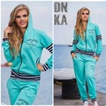 Plus Size Striped Patchwork Hoodies Womens Sweat Suit With Pockets 3 Colors Leisure 2 Piece Set Coat And Long Pants Tracksuit