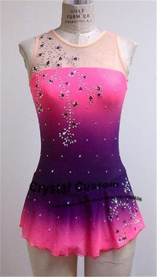 64056e077 Patinaje artístico de las mujeres Vestidos moda nueva marca patinaje de  hielo Vestidos competencia para adultos dr3491