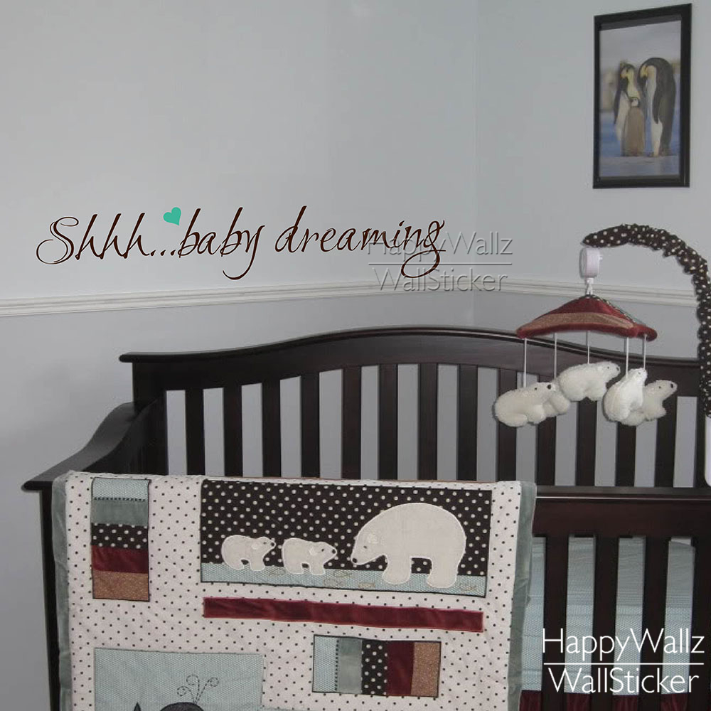 Baby Nursery Muurstickers Quotes-Koop Goedkope Baby Nursery ...