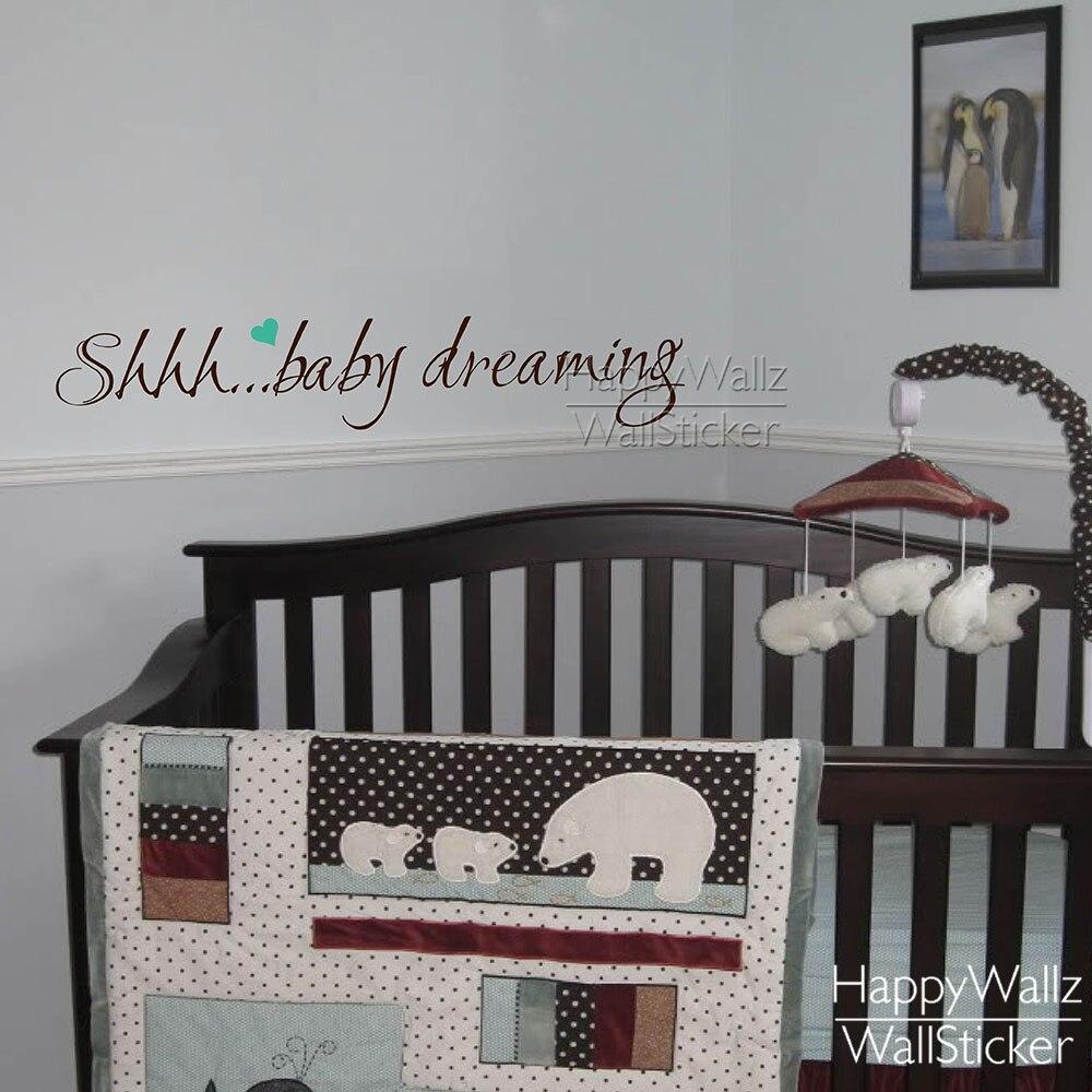 Online kopen Wholesale muur quotes babykamer uit China muur quotes ...