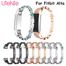 Stainless steel Replacement bracelet For Fitbit Alta smart watch Metal wristband HR accessories