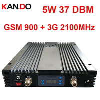 5w 37dbi 85dbi GSM 3G DUAL Band Repeater AGC MGC 900MHZ 3G 2100MHz Signal Booster GSM